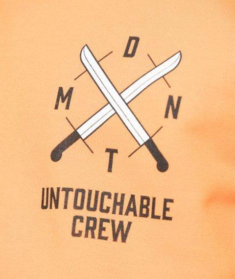 Diamante-Untouchable Crew Bluza Pomarańczowa