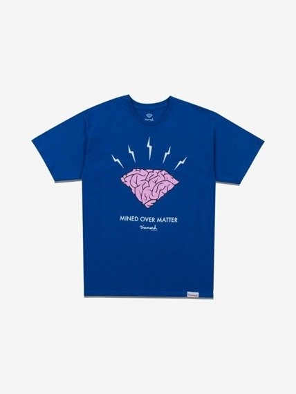 Diamond HEADSTRONG T-Shirt Niebieski