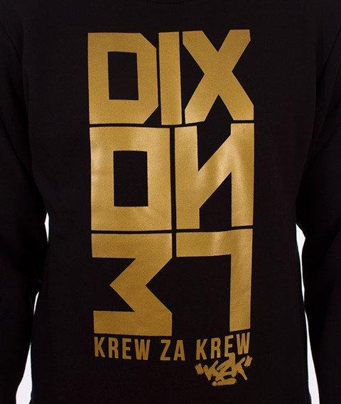 Dixon37-DIX Klasyk Gold KZK Bluza Czarna