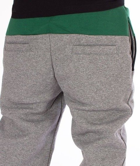 El Polako-3 Colors Regular Spodnie Dresowe Ciemno Szary