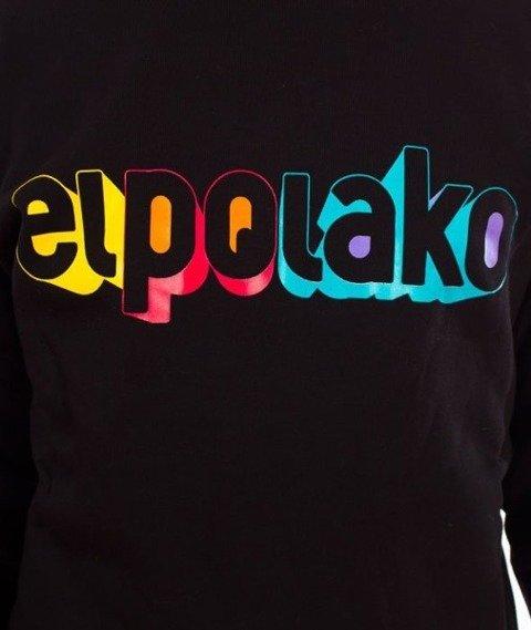 El Polako-3D Bluza Czarna