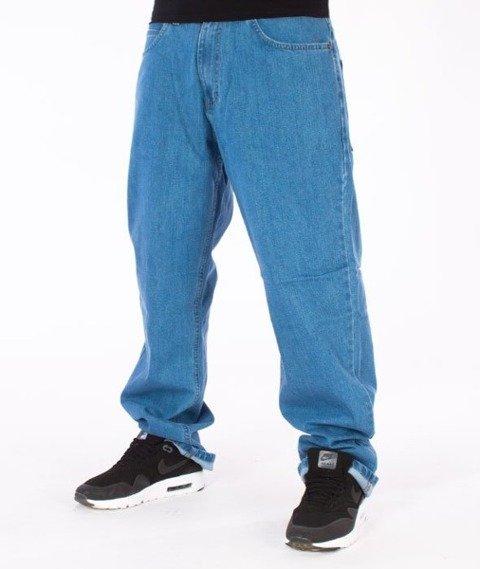 El Polako-Betonowe Regular Jeans Spodnie Light Blue