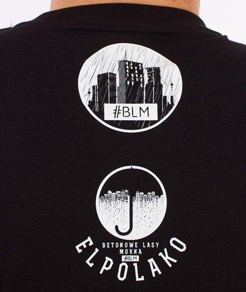 El Polako-Betonowe T-Shirt Czarny
