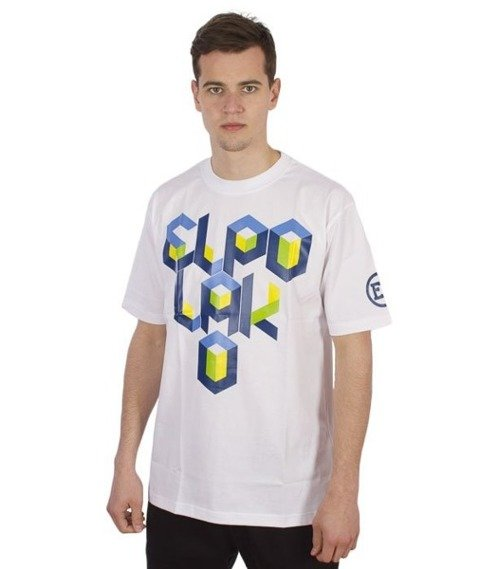 El Polako-Box T-Shirt Biały