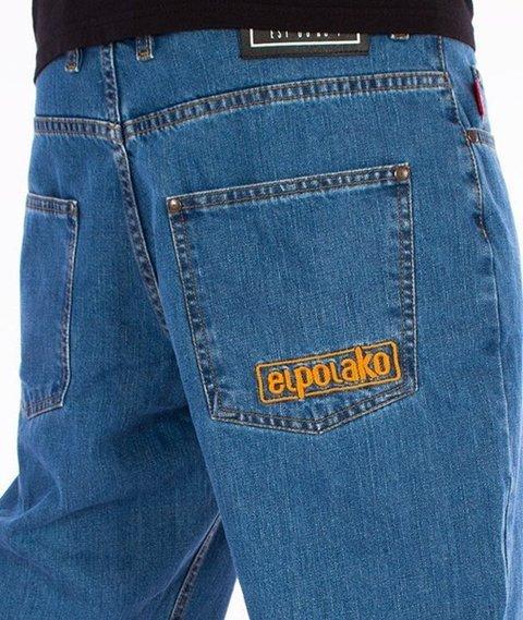 El Polako-Classic 08 Slim Spodnie Jeans Light Blue
