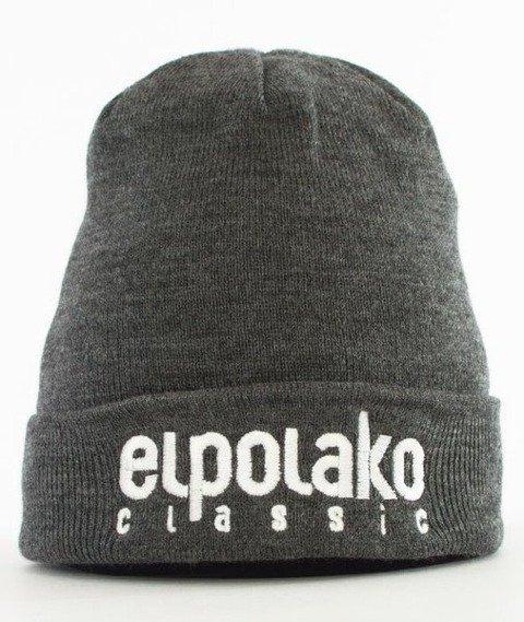 El Polako-Classic EP Czapka Wywijana Ciemny Szary