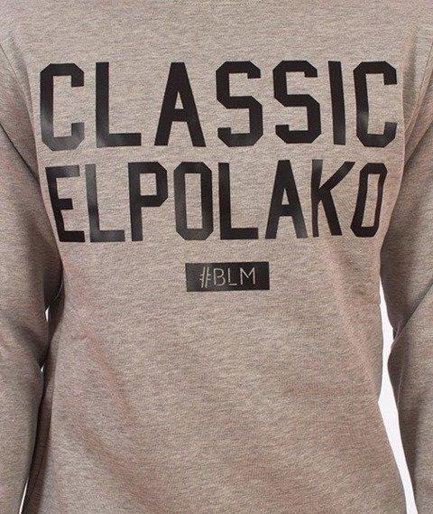 El Polako-Classic Elpolako Bluza Szara
