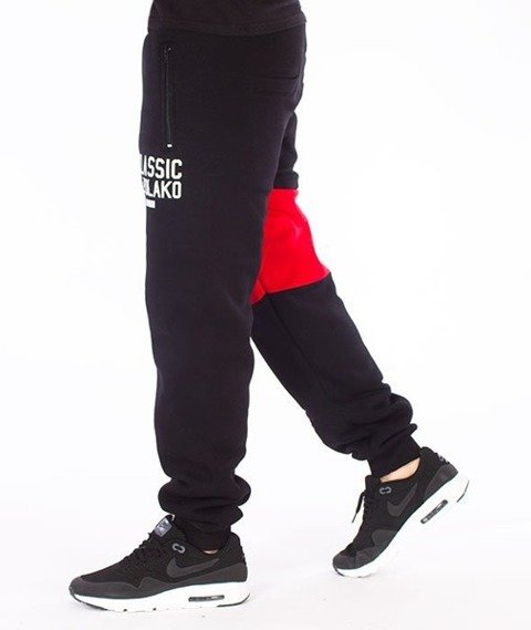 El Polako-Classic Elpolako Regular Spodnie Dresowe Czarne