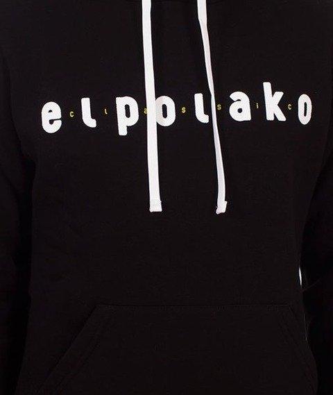 El Polako-Classic Hoody Bluza Kaptur Czarny