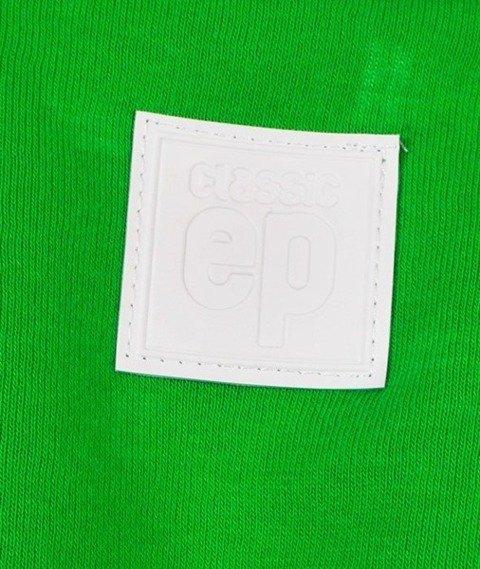 El Polako-Classic Logo Crewneck Bluza Zielona