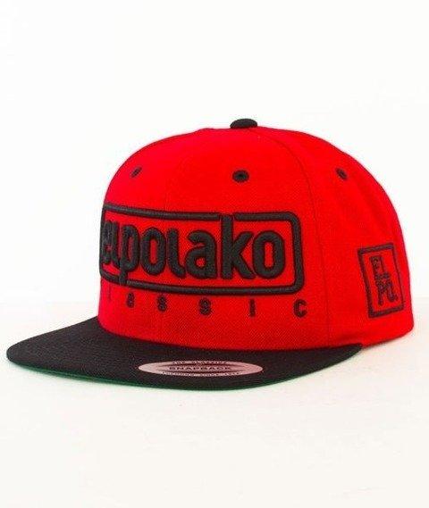 El Polako-Classic Snapback Czerwony/Czarny