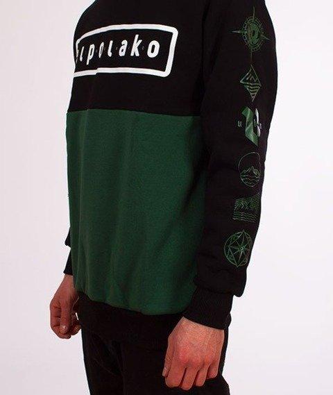 El Polako-Classic Style Crewneck Bluza Czarna