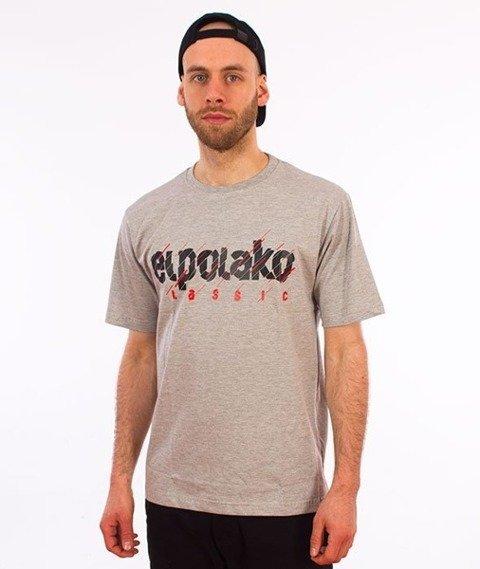 El Polako-Cut Classic T-Shirt Szary