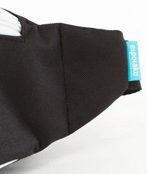 El Polako-Cut Logo Street Bag Nerka Czarna
