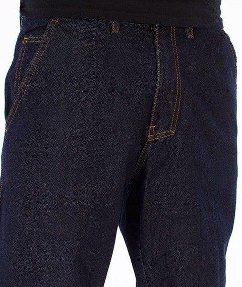 El Polako-Cut Regular Jogger Spodnie Dark Blue