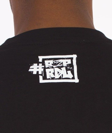 El Polako-Dot T-Shirt Czarny