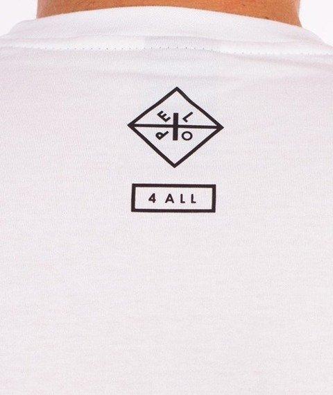 El Polako-Drapieżne Chmury T-Shirt Biały