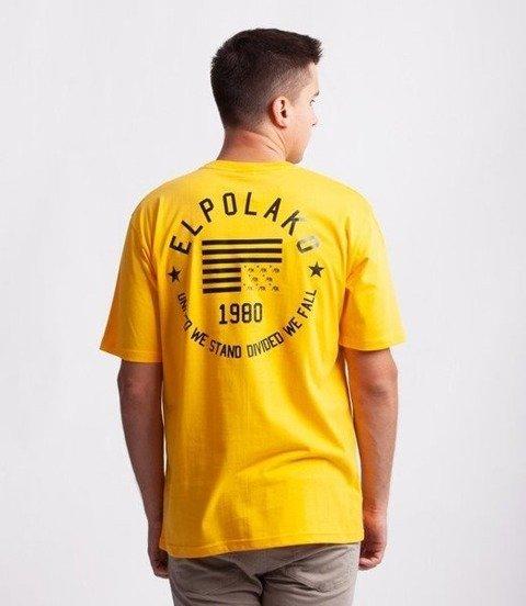 El Polako EL POLAKO 1980 T-Shirt Żółty