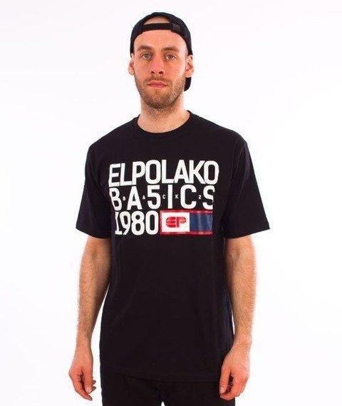 El Polako-EP Basic T-Shirt Czarny