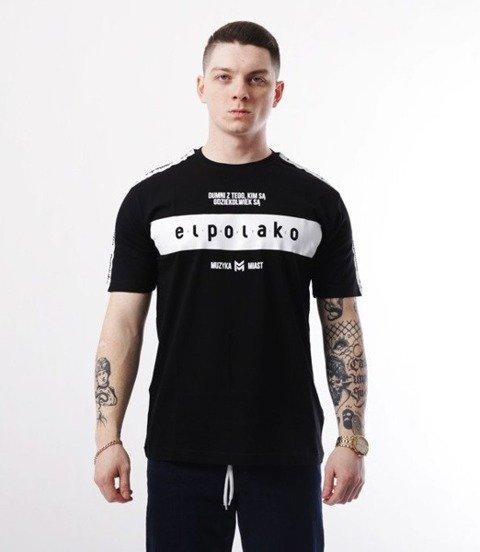 El Polako-EP Belt T-Shirt Czarny
