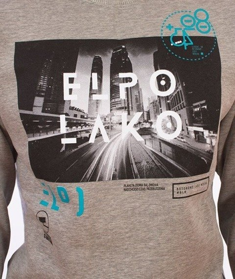 El Polako-EP City Bluza Szara