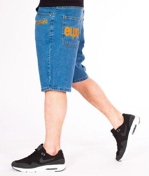 El Polako-EP Classic Szorty Jeans Light Blue