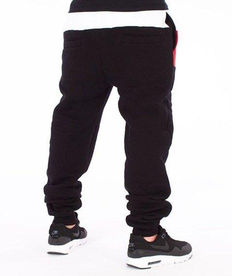 El Polako-El Polako Cut Premium Fit Spodnie Dresowe Czarne