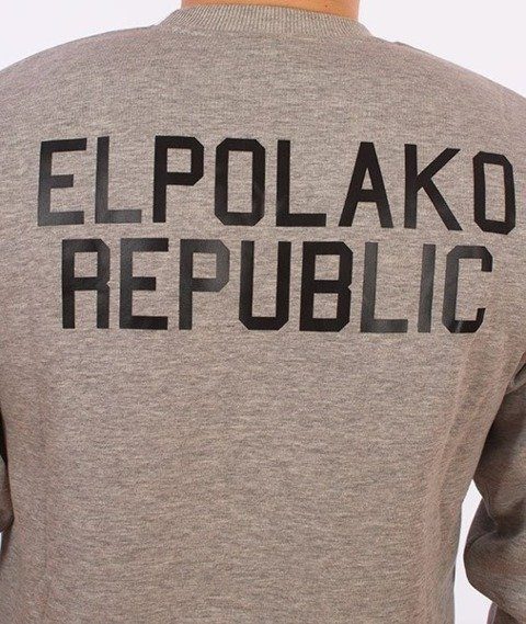 El Polako-El Polako Republic Bluza Szara