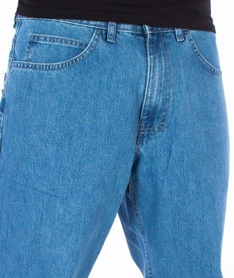 El Polako-Elpo BLM Regular Jeans Spodnie Light Blue