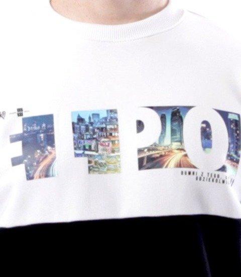 El Polako-Elpo Cut City Bluza Czarny