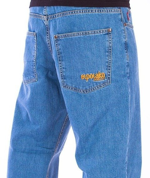 El Polako-Expedition Regular Jeans Light Blue