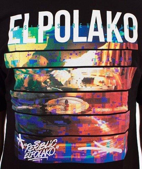 El Polako-Gramofon T-Shirt Czarny