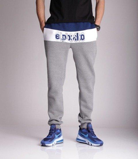 El Polako HALF CLASSIC Spodnie Dresowe Fit Szary