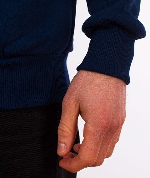 El Polako-Hand Written Bluza Granat
