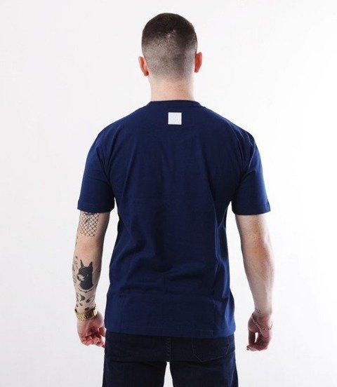 El Polako-Handmade T-Shirt Granatowy