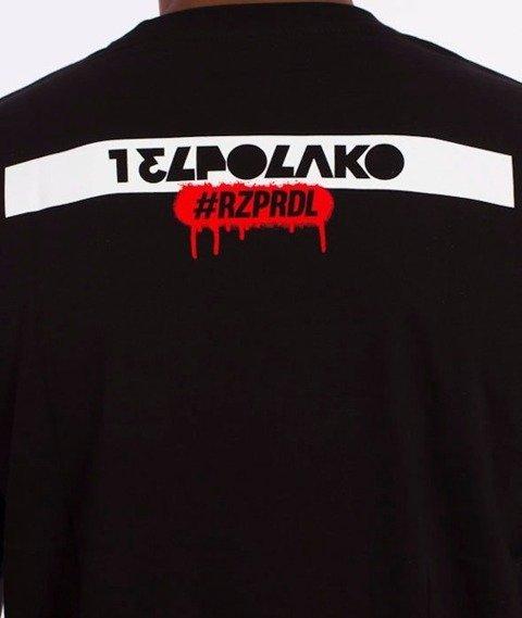 El Polako-Hello My Name Is T-Shirt Czarny