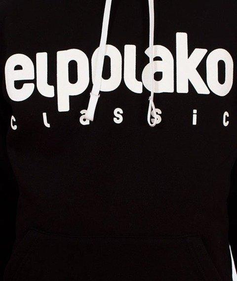 El Polako-Kangurka Classic Logo Bluza Kaptur Czarna