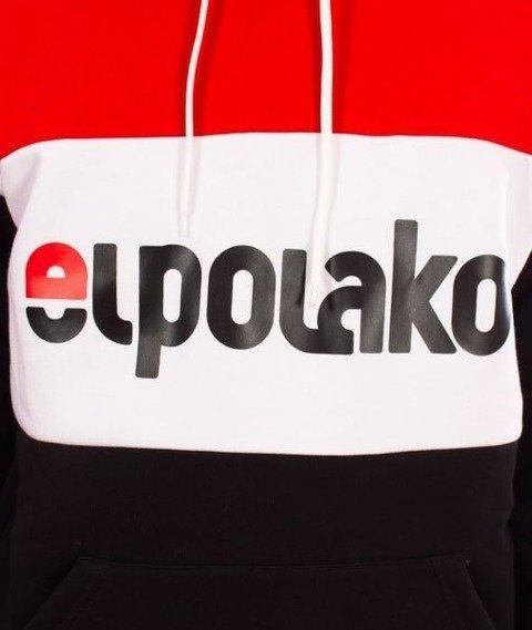 El Polako-Kangurka Elpo New Bluza Kaptur Czarny