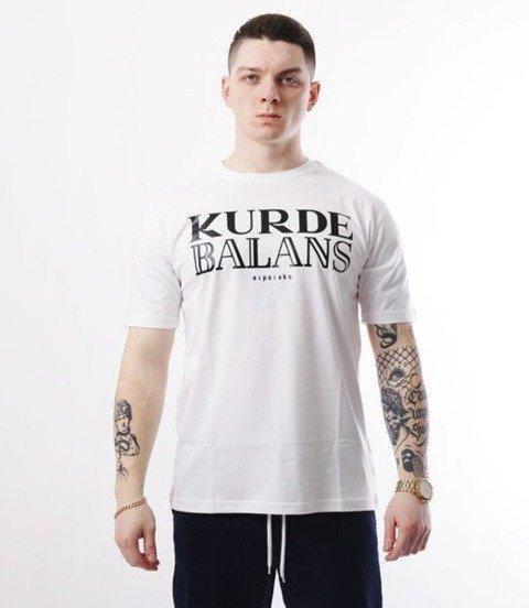 El Polako-Kurde Balans T-Shirt Biały