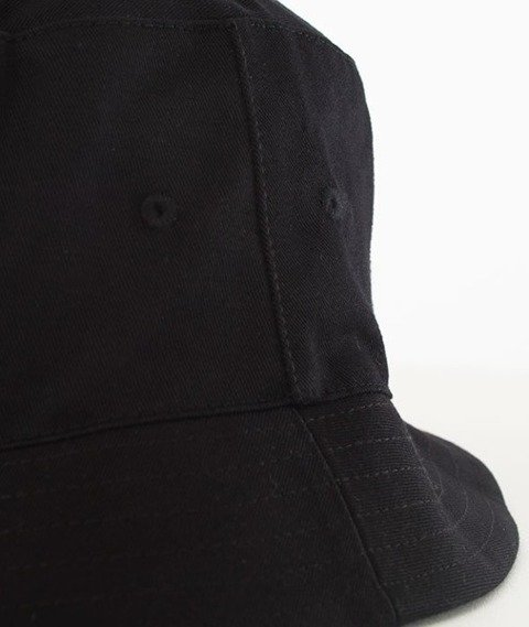 El Polako-Logo Cut Bucket Hat Czarny