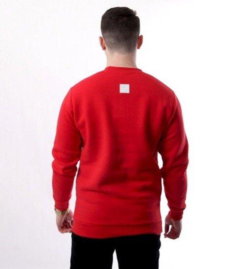 El Polako-Logobox Bluza Czerwony