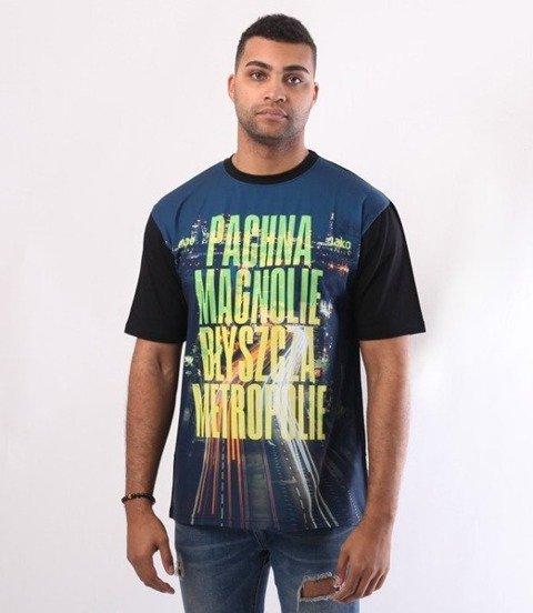 El Polako-Magnolie T-Shirt Czarny