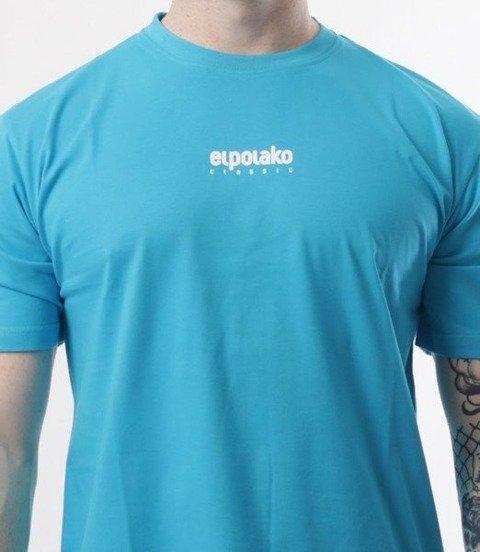 El Polako-Mini Logo T-Shirt Błękit