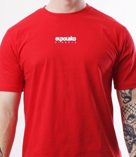 El Polako-Mini Logo T-Shirt Czerwony