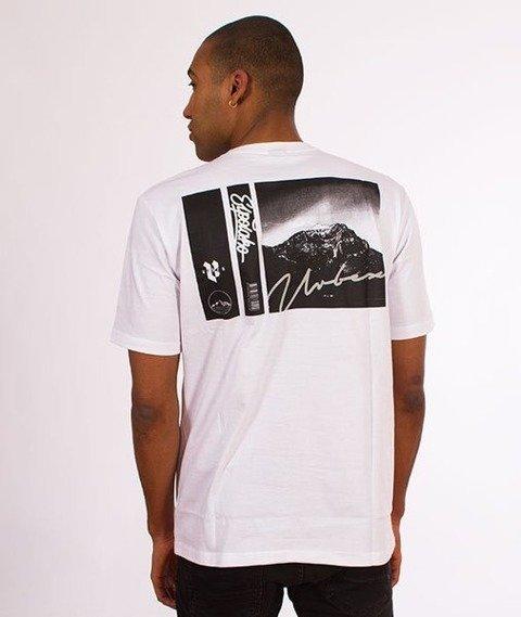 El Polako-Mountain T-Shirt Biały