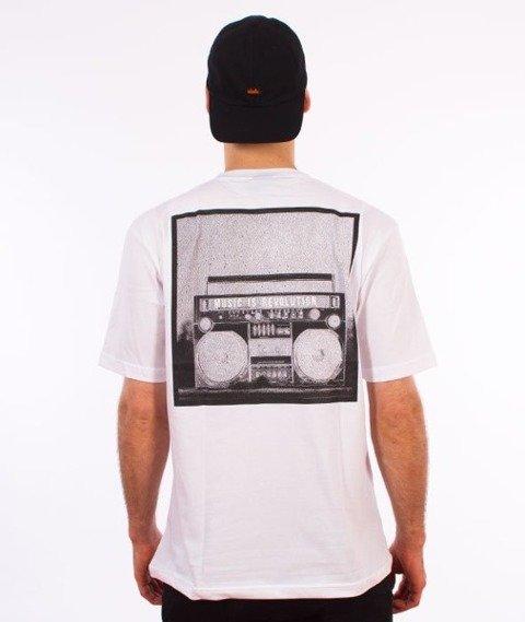 El Polako-Music Revolution T-Shirt Biały