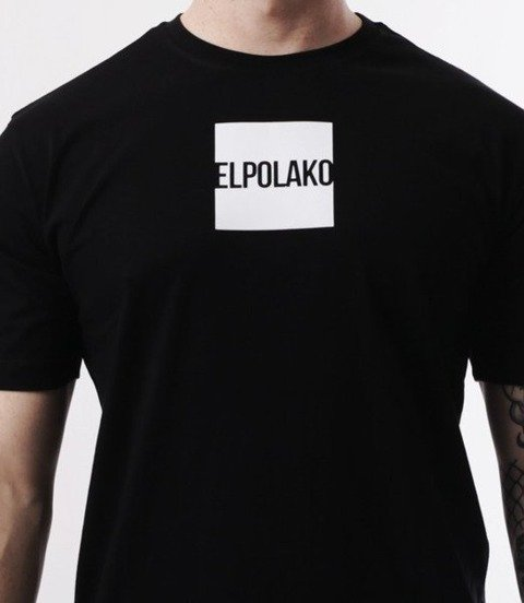 El Polako-New Box T-Shirt Czarny