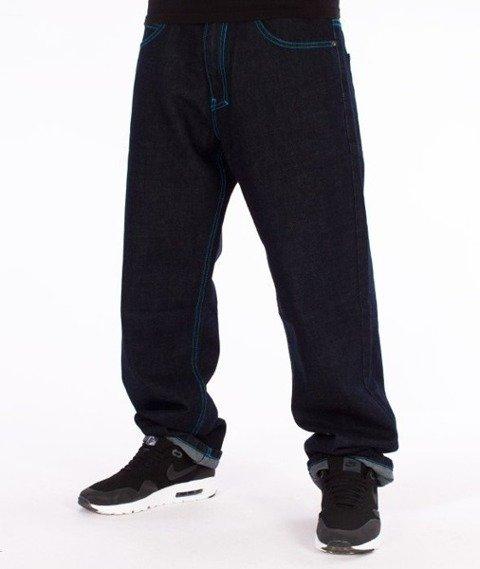 El Polako-Number Regular Jeans Dark Blue