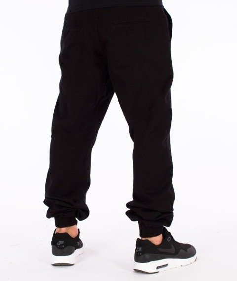El Polako-Number Regular Jogger Spodnie Czarne