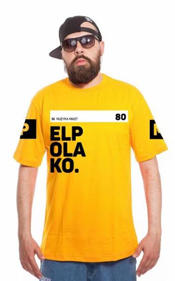 El Polako-OK T-Shirt Żółty